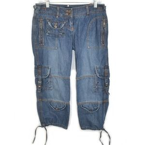 The Limited Cargo Capri Womens Jeans Size 4